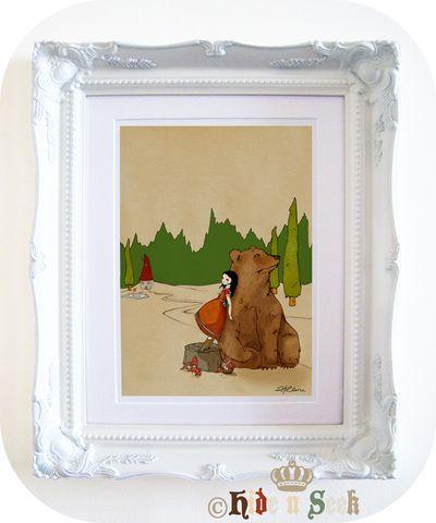 Framed! 11x14 size